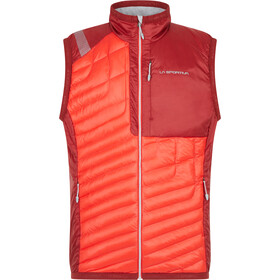 La Sportiva Inversion Primaloft Vest Heren, poppy/chili